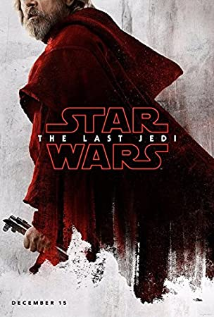 Star Wars Episode 8 The Last Jedi Luke Us Imported Wall Movie