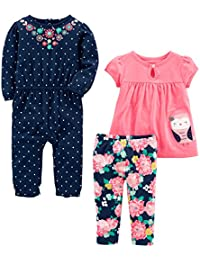 Girls' 3-Piece Playwear Set