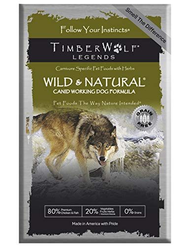 Wild & Natural Legends - 45lbs