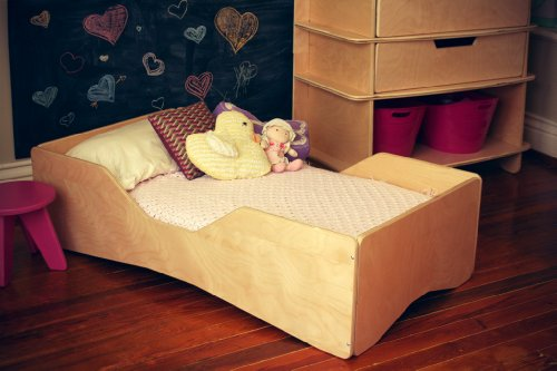 Cheap Blonde Aero Toddler Bed