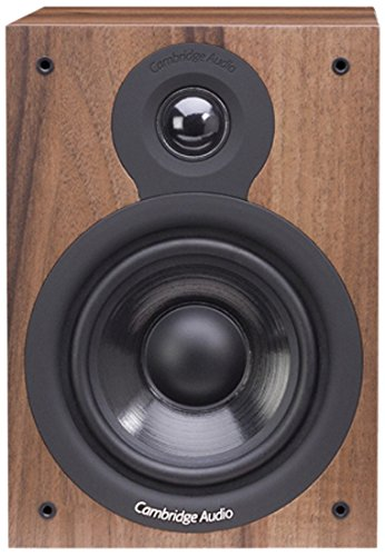 Cambridge Audio SX-50 - Altavoces (Nuez, Mesa/Estante, Universal, Alámbrico, 50-22000 Hz, De 2 vías)