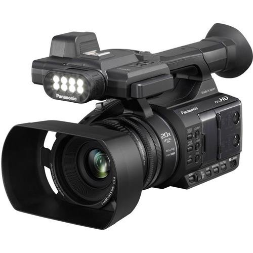 Panasonic AG-AC30PJ Full HD Camcorder with 3'' Touch LCD and 20x Optical Zoom (International Version) by Panasonic