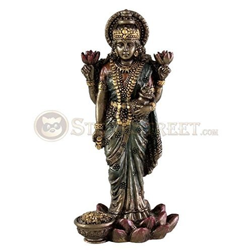 hindu-goddess-lakshmi-bronze-finish-statue-figurine-sculpture