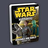 Fantasy Flight Games Star Wars Roleplaying: Imperials And Rebels Adversary Deck