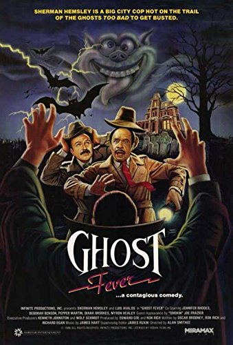 Ghost Fever Announcement Movie B 11x17 Sherman Hemsley Luis Avalos