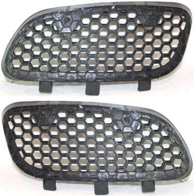 Automotive Headlight Assembly Mouldings Grille Assembly Compatible ...