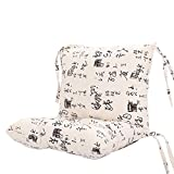 CN'Dragon Cute Animals Conjoined Cushion Office Chair Cushion Car Seat Cushion (Calligraphy)