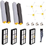I clean Replacement iRobot Roomba 960 Parts, Roomba Accessories for iRobot Roomba 890 980 880 805 Vacuum,with 4pcs Filter, 4pcs Brush, 2 Sets Extractors