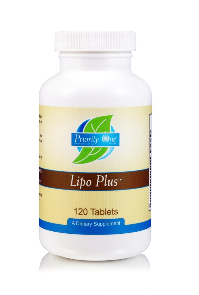 Priority One Vitamins Lipo Plus 120 Tablets - Designed to Help Maintain Healthy Liver Function.* by Priority One Nutritional Supplements