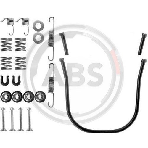 ABS 0634Q Brake Shoes Accessory Kit ABS All Brake Systems bv
