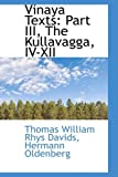 Vinaya Texts, Thomas William Rhys Davids, 0559929897