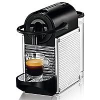 DeLonghi Nespresso EN 125.M Kapselmaschine (1260 Watt, 0,7 Liter, Pixie Electric) steel