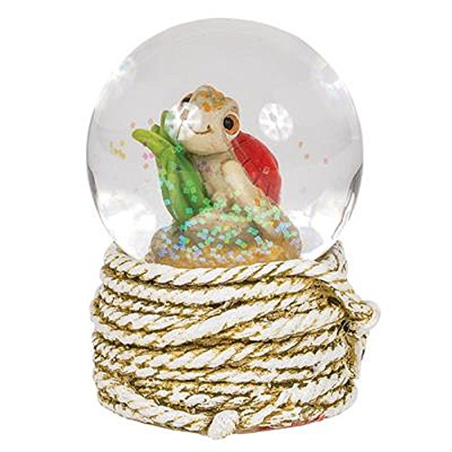 - 45MM Big Rope Turtle Water Globe, Multicolored. Three Pieces.