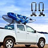 AA Products 2 Pair Double Folding J-Bar Rack for