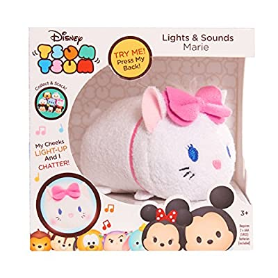 Disney Tsum Tsum Lights & Sounds Marie Plush