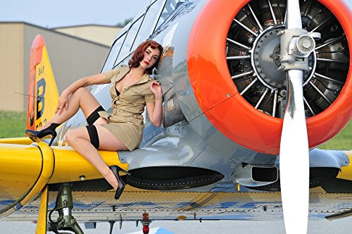 Posterazzi PSTCHK100046MLARGE 1940's style pin-up girl for sale  Delivered anywhere in USA