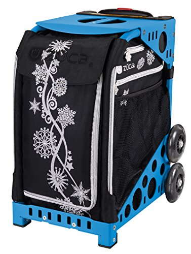 ZUCA 'Silver Shimmer Sport Insert Bag (Snowflake Ice Design), Frames Sold Separately
