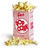 Great Northern Popcorn 50 Premium Quality Movie Theater Style Popcorn Boxes 38 Ounce (Oz) Box