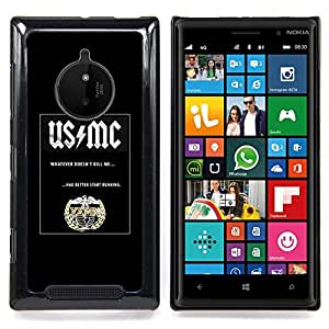- poster mc music shield black band - - Modelo de la piel protectora de la cubierta del caso FOR Nokia Lumia 830 RetroCandy