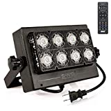 50W RGB LED Flood Light Outdoor Color Changing with Remote Control, 16 Colors 8 Modes Dimmable Waterproof Landscape Wall Lights, Color Floodlight for Garden Yard Pool Party Decor, Stage Lights, SANSI