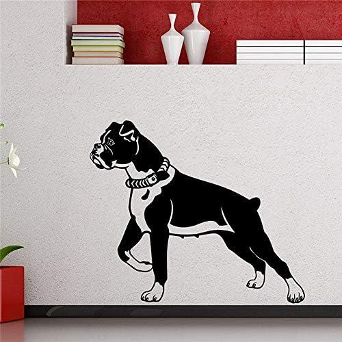 Ajcwhml Boxer Dog Tatuajes de Pared Animal Etiqueta Engomada de ...
