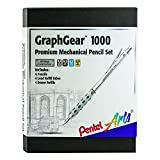 Pentel Arts GraphGear 1000 Premium Gift Set with Refill Leads & Erasers (PG1000BXSET)