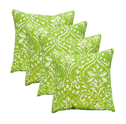 - RSH Décor Set of 4 Indoor/Outdoor Square Throw Pillows (17
