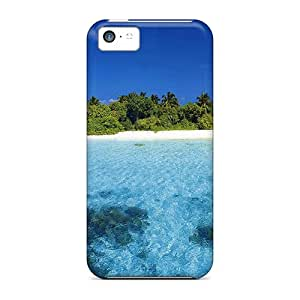 Iphone 5c Case Cover Solitary Isl Atoll Maldives Case - Eco-friendly Packaging