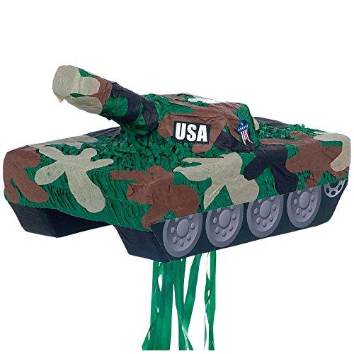 YA OTTA PINATA 30229 Tank Pull String Pinata - paper]()