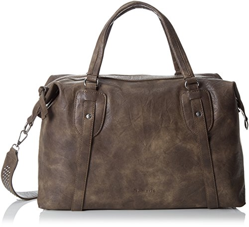 Tamaris Cordelia Shoulder Bag - bolsa de medio lado Mujer Marrón - marrón (moca)
