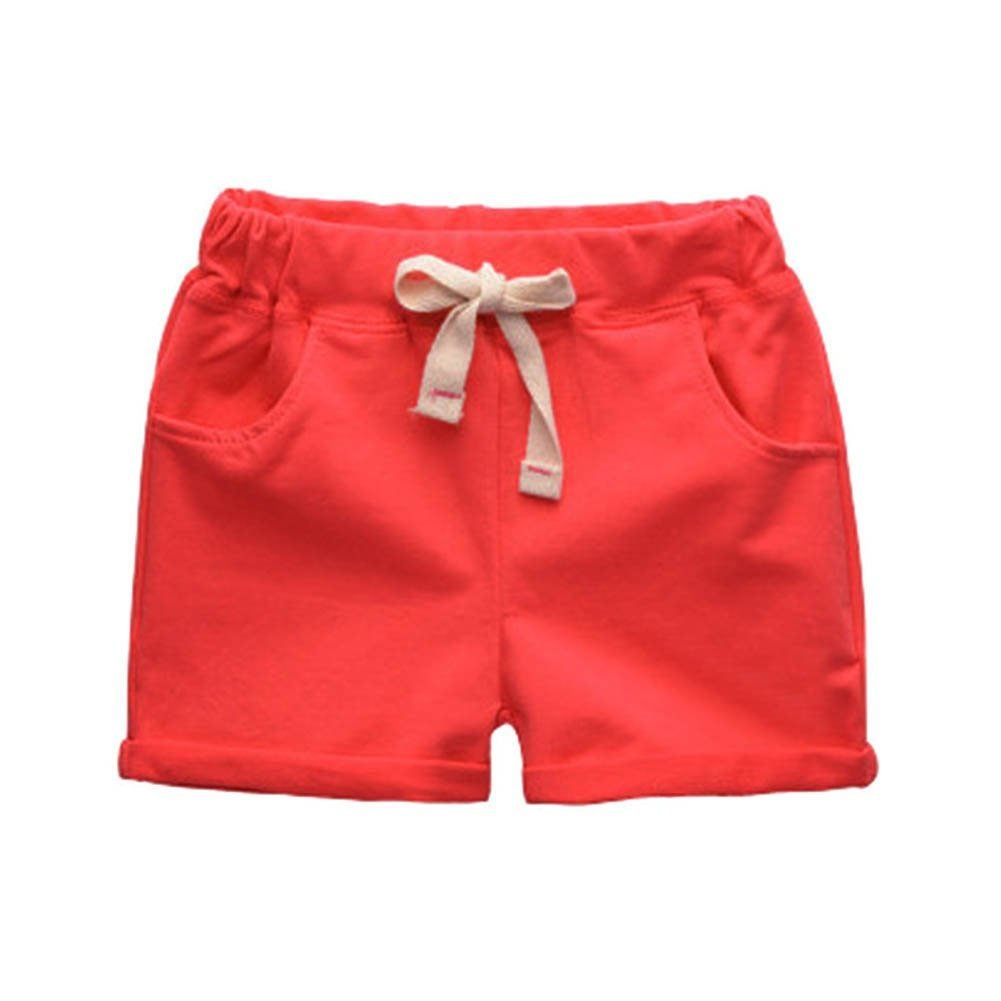 PanDaDa Toddler Kids Boy Girl Cotton Beach Shorts Summer Shorts Pants Trousers