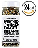 Trader Joe's Everything but the Bagel Sesame Seasoning Blend 2.3 Oz (24 Count) - Box of 24 Jars