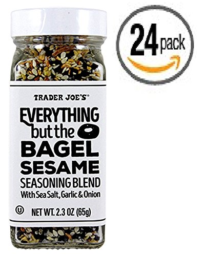 Trader Joe's Everything but the Bagel Sesame Seasoning Blend 2.3 Oz (24 Count) - Box of 24 Jars by Trader Joe's