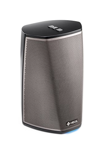 Denon HEOS 1 HS2 Wireless Speaker (Black) (New Version) by Denon