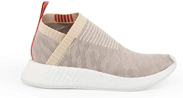 adidas Chaussures Homme NMD_CS2 Primeknit Chaussures Beige