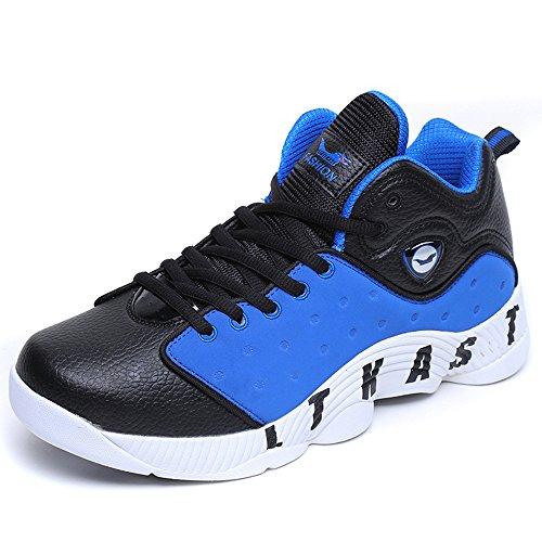 フィクションコンバーチブル知るSufoen 男女兼用 バスケットシューズ バッシュ ハイカットスニーカー ランニング フィットネスシューズ ジョギング 運動靴