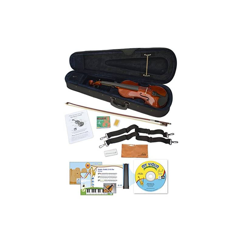 eMedia 4-String Violin, 1/4-size (EV0516
