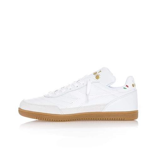 separation shoes 58a53 52377 Diadora Sneakers Uomo Gold Indoor 501.174822.20006: Amazon ...