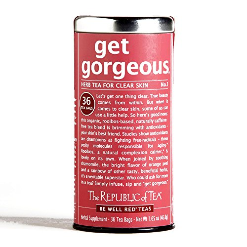 The Republic of Tea Get Gorgeous Red Tea 36-Count 1.65 oz each (1 Item Per Order)