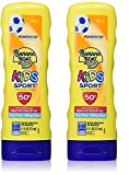Banana Boat Kids Sport Tear-Free, Sting-Free Broad Spectrum Sunscreen Lotion, SPF 50+ - 7.5 Ounce (2-Pack)