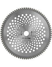 """Grästrimmer, höghastighets stålskärhjul 10""""Professionellt ståltandblad för ogräs och skörd"""