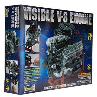 visible-v-8-engine-plastic-model-kit