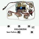 Bartolini HR5.3AP/918 Prewired Active/Passive Preamp Harness 9/18V 3 Band EQ