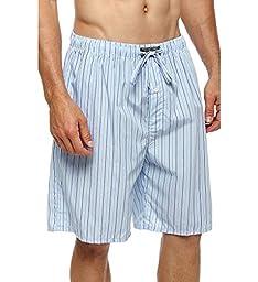 Polo Ralph Lauren 100% Cotton Woven Sleep Shorts (P739) L/Bari Stripe