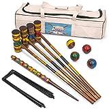 Best Croquet Sets - Vintage Wood Premium Croquet Set | 4-player Outdoor Review
