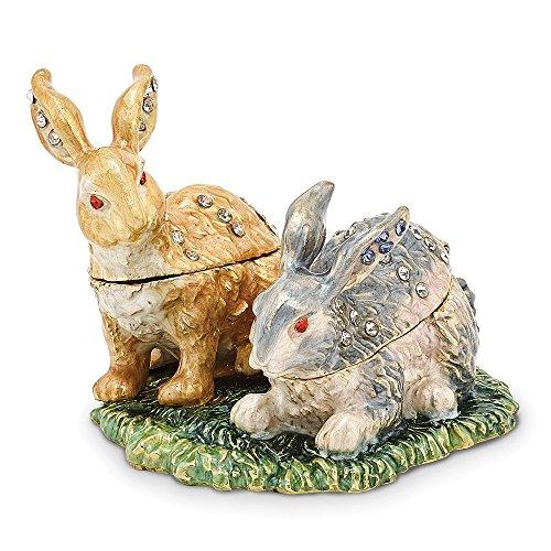 (Bejeweled Best Bunnies Trinket Box)