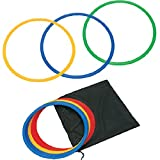 Cougar Speed & Agility Soccer Training Rings with FREE Bag - Set of 12 (18 inches)