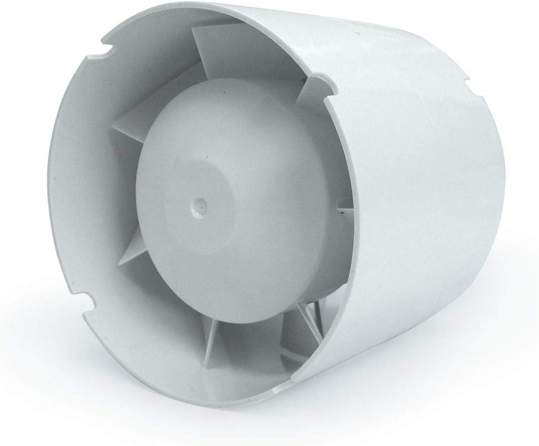 Extractor de aire en línea Helicoidal Vents VKO1 107 m³/h (100mm)