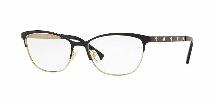 e3cdf4125b0 Amazon.com  Versace Women s VE1251 Eyeglasses 53mm  Clothing