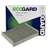 ECOGARD XC35526C Cabin Air Filter with Activated Carbon Odor Eliminator - Premium Replacement Fits Lincoln LS/Jaguar S-Type, Vanden Plas